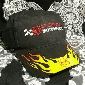 Dodge motorsports baseball cap hat